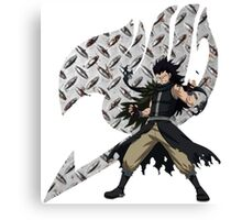 Gajeel Fairy Tail 6 Canvas Print