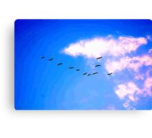 """THE """"ONE"""" OUT .........! Canvas Print"""