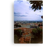 Prague from the Castle 2 Canvas Print