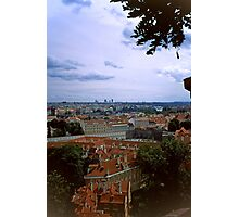 Prague from the Castle 2 Photographic Print