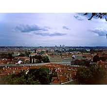 Prague from the Castle 1 Photographic Print