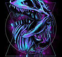 Mesozoic Era by Lou Patrick Mackay