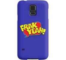 Funny Superhero comic word Frak Yeah! Samsung Galaxy Case/Skin