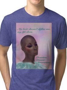 Ovarian Cancer Awareness Tri-blend T-Shirt
