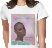 Ovarian Cancer Awareness Womens Fitted T-Shirt