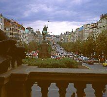 Evening in Prague by Priscilla Turner
