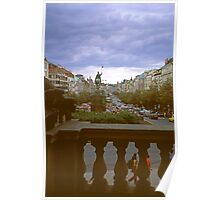 Evening in Prague Poster