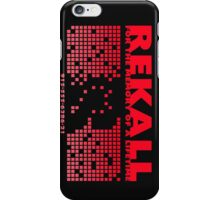 Rekall T-Shirt iPhone Case/Skin