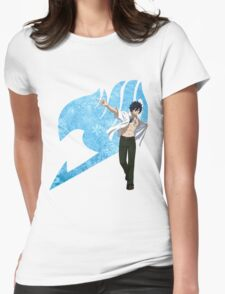 Gray Fairy Tail 2 Womens Fitted T-Shirt