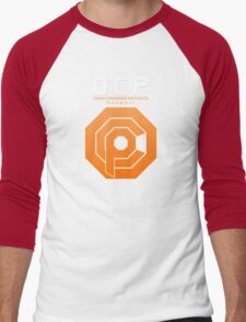 Omni Consumer Products (OCP) Men's Baseball ¾ T-Shirt