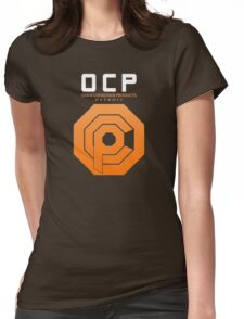 Omni Consumer Products (OCP) Womens Fitted T-Shirt