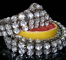 Jewelled Fruit One by Yvonne Carsley