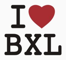 I Love Bxl by L DB