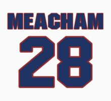 National baseball player Rusty Meacham jersey 28 by imsport