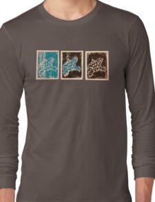 Blue Amphibian Long Sleeve T-Shirt