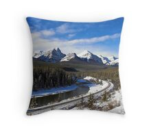 Bow Valley Throw Pillow