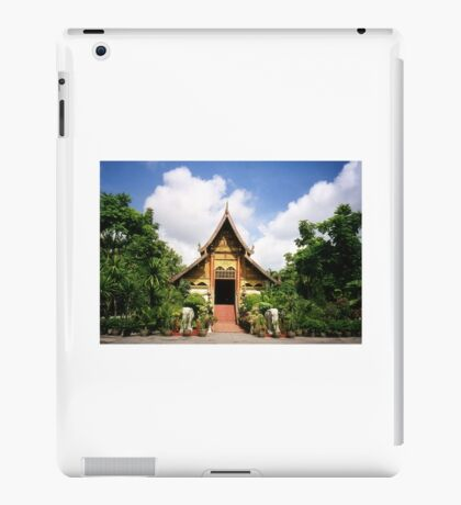 Wat Chiang Rai Thailand iPad Case/Skin