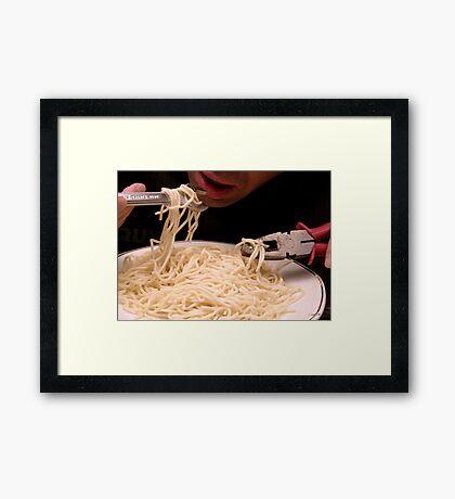Nouvelle Cuisine - Chapter 2 Framed Print