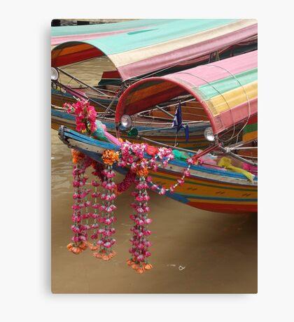 Chao Praya Flowers Canvas Print