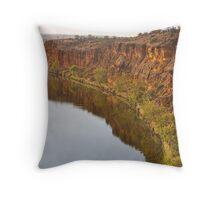 Walker Flat Cliffs Throw Pillow
