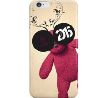 Little Pink Bear said :: Happy New Year 2015 :) '' iPhone Case/Skin
