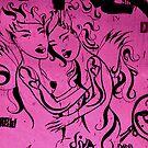 Barcalona street art by bouche