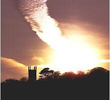 Meteor Strikes Cornwall by AndyReeve