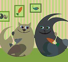 friends by Anastasiia Kucherenko