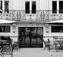 Museum coffee shop-Buenos Aires by CJVisions