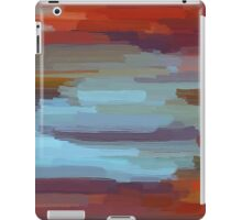 Colorful Painting Abstract Background iPad Case/Skin