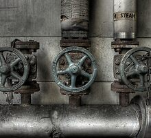 Steam Valves by Richard Shepherd