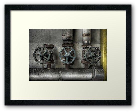 Steam Valves by Richard Shepherd