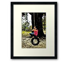 Swing! Framed Print