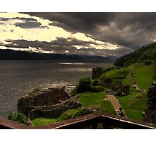 Urquhart Castle  Loch Ness Photographic Print