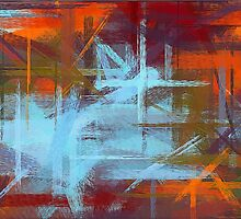 Colorful Painting Abstract Background #2 by Nhan Ngo