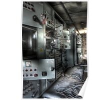 industrial Power Poster
