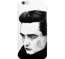 Johnny Cash iPhone Case/Skin