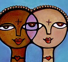 Two Girls by Makeba Kedem-DuBose