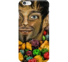 Nice Enough Hipster, But Damn, He was Hyper iPhone Case/Skin