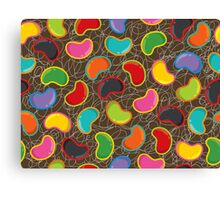 Jellybeans Madness Canvas Print