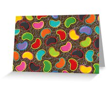 Jellybeans Madness Greeting Card
