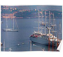 Monaco Harbour Poster