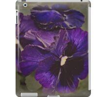 Pansies iPad Case/Skin
