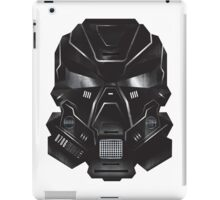 Black Metal Future Fighter Sci-fi Concept Art iPad Case/Skin