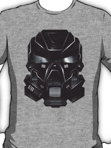 Black Metal Future Fighter Sci-fi Concept Art T-Shirt