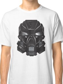Black Metal Future Fighter Sci-fi Concept Art Classic T-Shirt