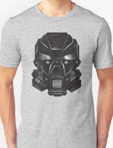 Black Metal Future Fighter Sci-fi Concept Art T-Shirt