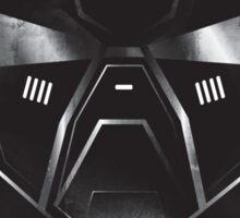Black Metal Future Fighter Sci-fi Concept Art Sticker