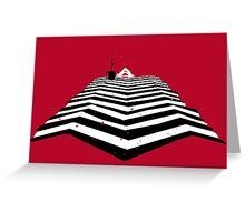 Twin Peaks - Damn fine cup of Coffee Greeting Card