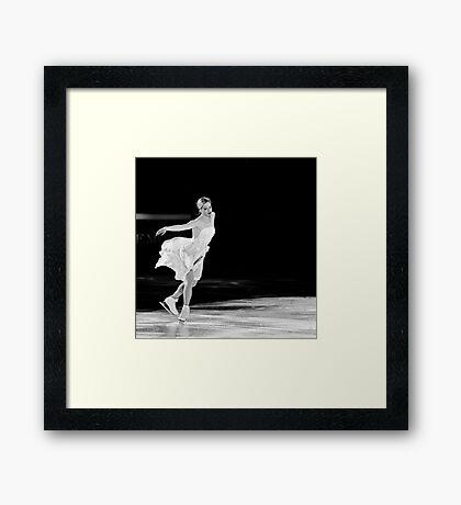 Carolina Kostner Framed Print